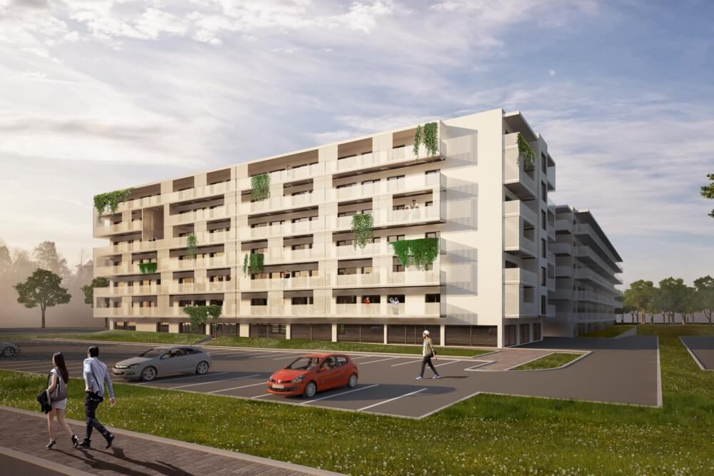 Konstruktionsprojekt des Wohnkomplexes -Vis. 01-03