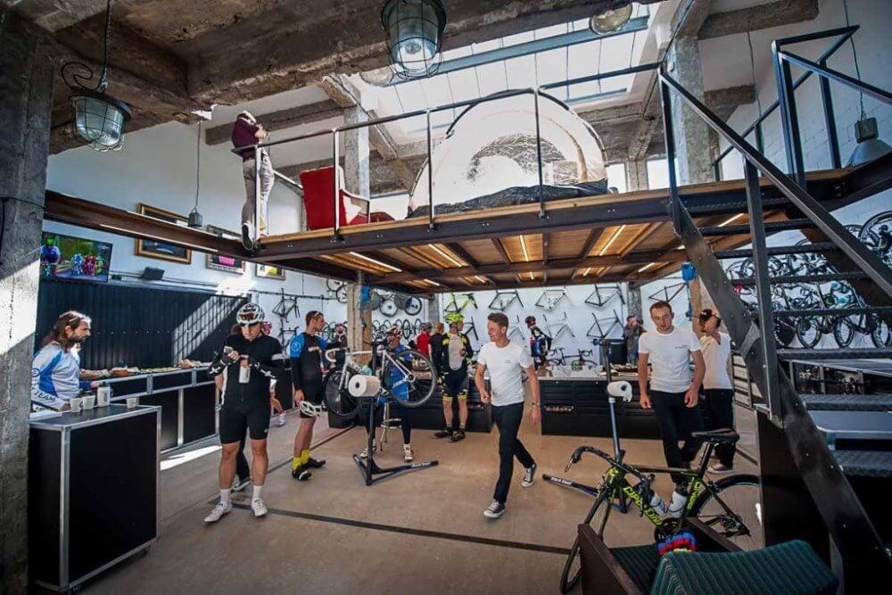 Konstruktionsprojekt des Zwischengeschosses des Fahrradsalons - Fot. 01-03