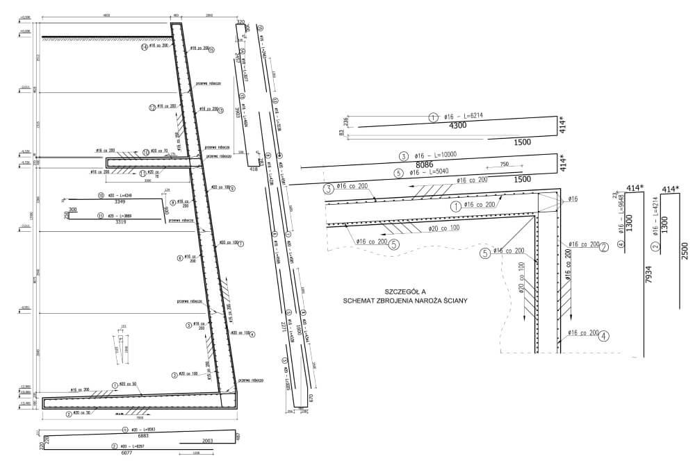Projekt des Versatzgutbehälters - Zchng. 04-03