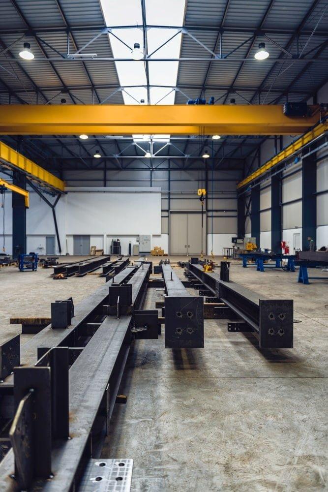 Projekte der Stahlkonstruktionen - Foto 02-02