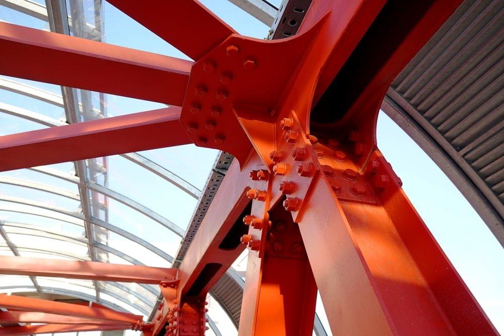 Projekte der Stahlkonstruktionen - Foto 02-03