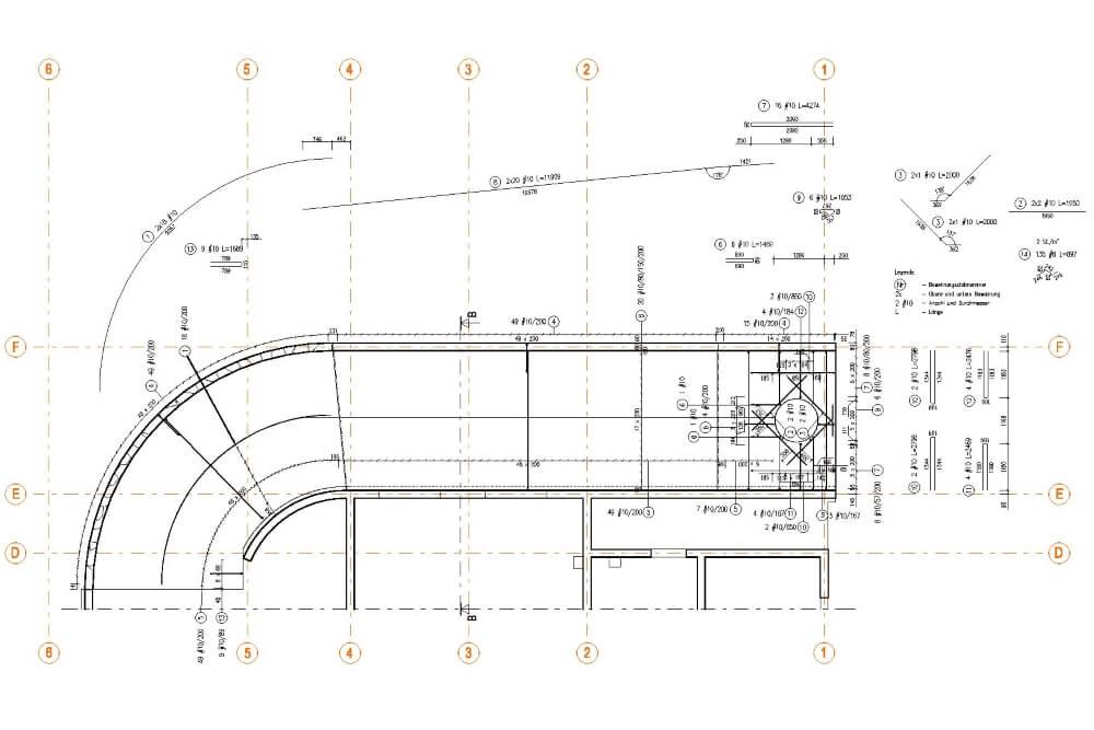 Konstruktionsprojekt des Mehrfamiliengebäudes in Leipzig - Zchng. 05-03