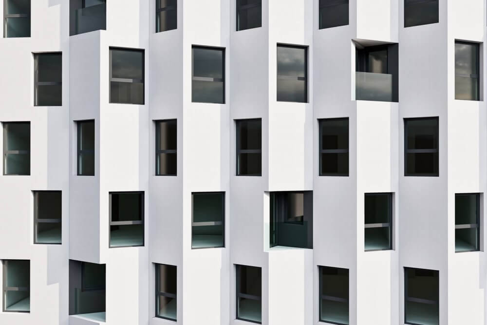 Konstruktionsprojekt des Wohngebäudekomplexes - Vis. 07-03