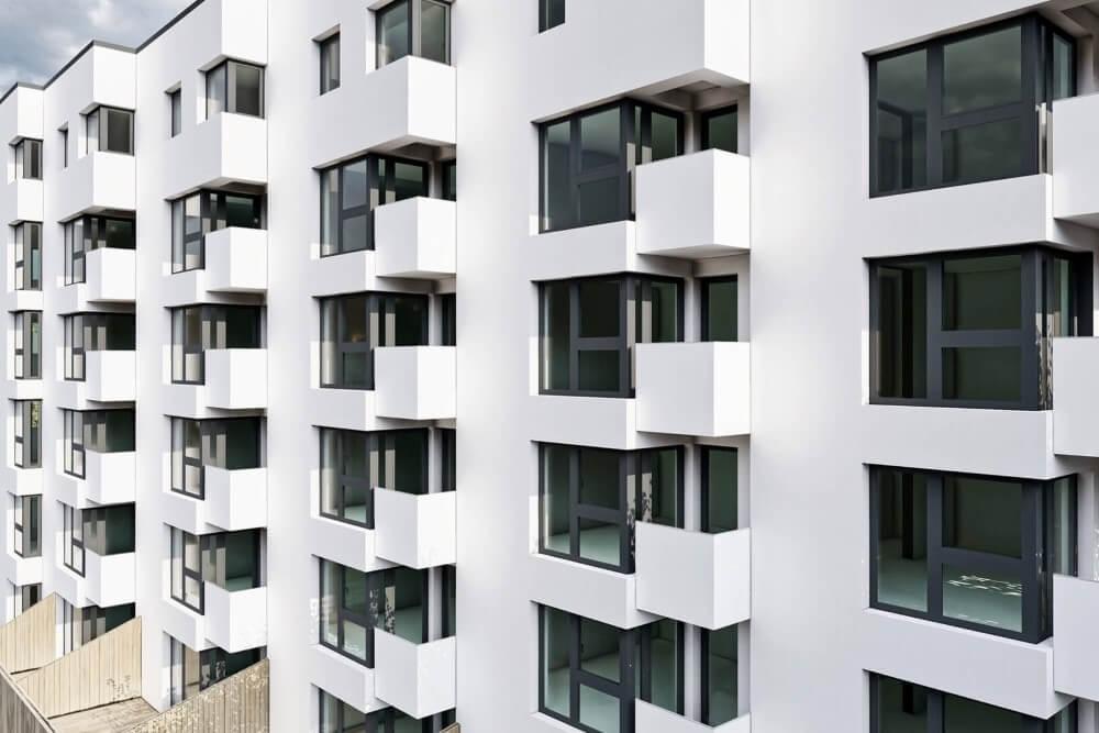 Konstruktionsprojekt des Wohngebäudekomplexes - Vis. 08-03