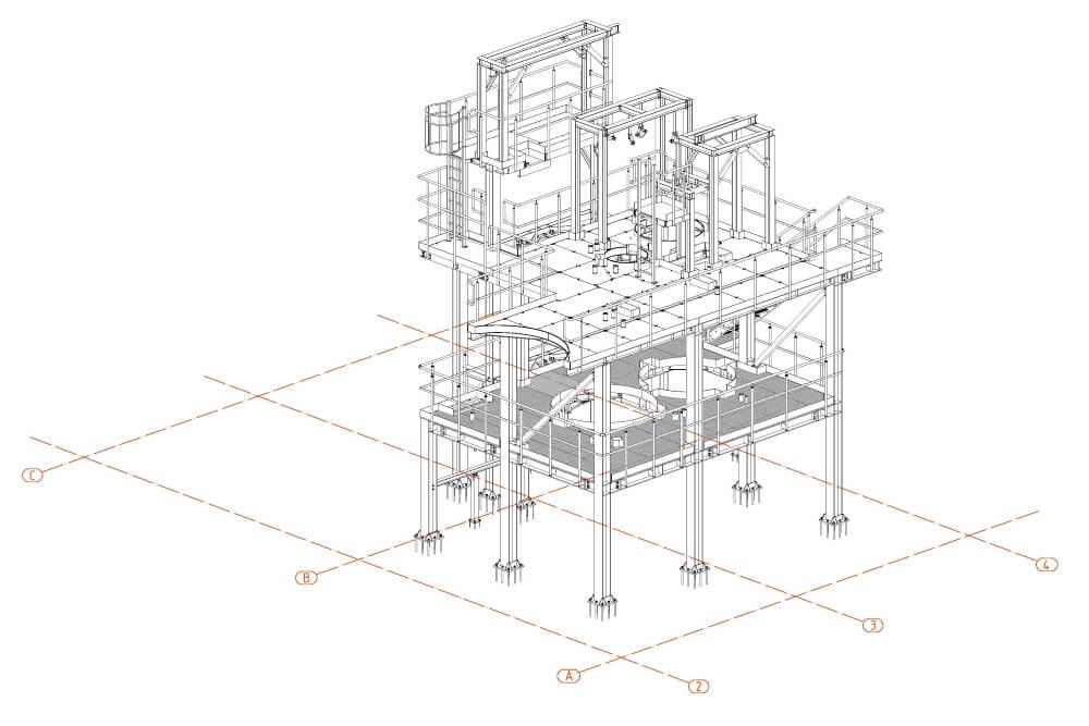 Projekt der Stahl-Service-Platfformen - Zchng. 02-03