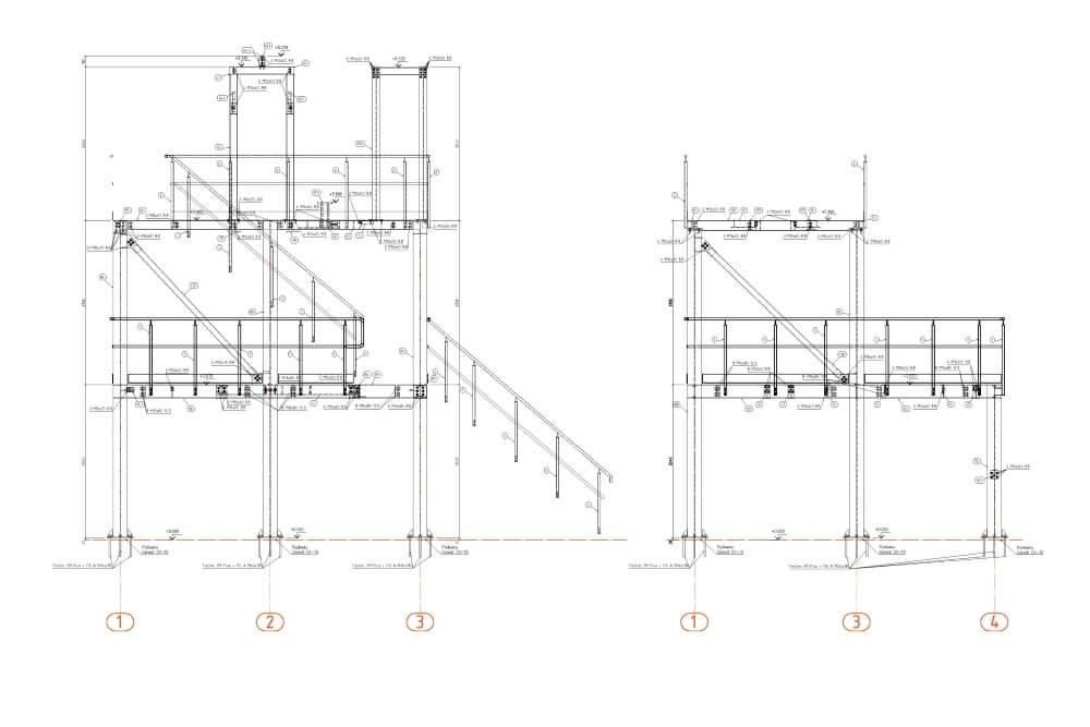 Projekt der Stahl-Service-Platfformen - Zchng. 04-03