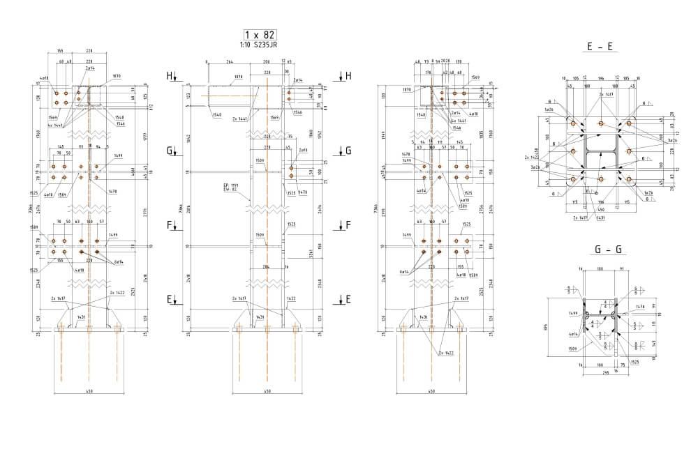 Projekt der Stahl-Service-Platfformen - Zchng. 06-03