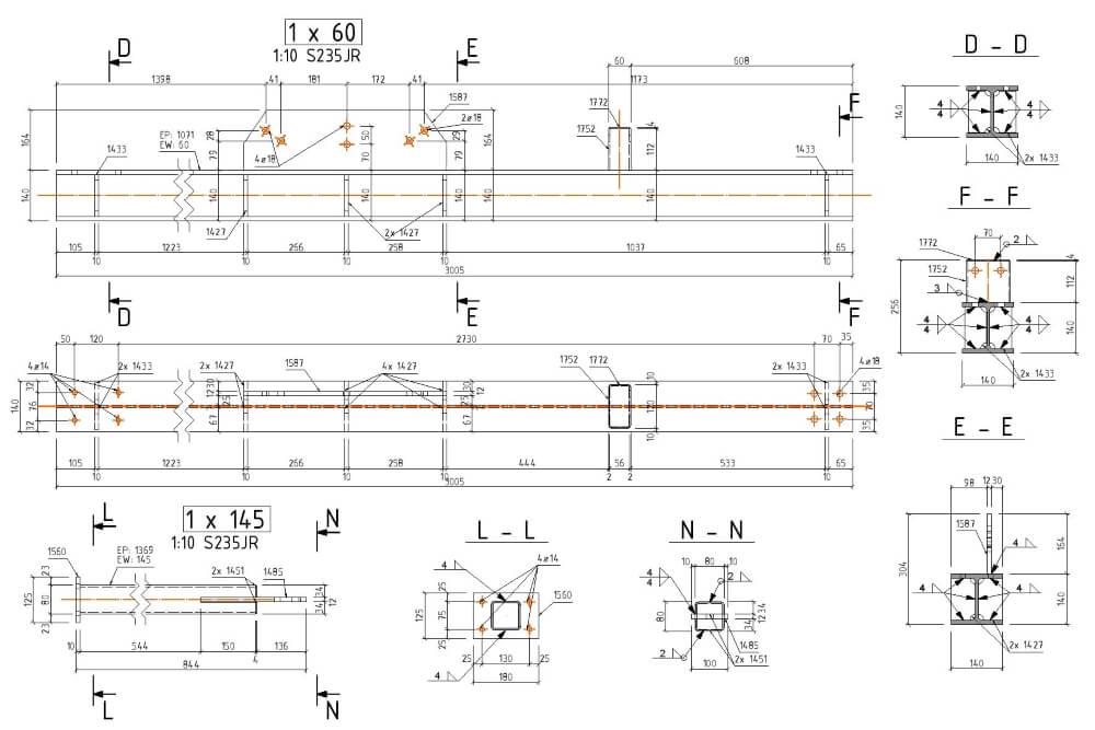 Projekt der Stahl-Service-Platfformen - Zchng. 07-03