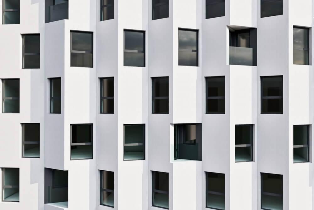Projekt konstrukcyjny kompleksu budynków mieszkalnych - wiz. 07-03