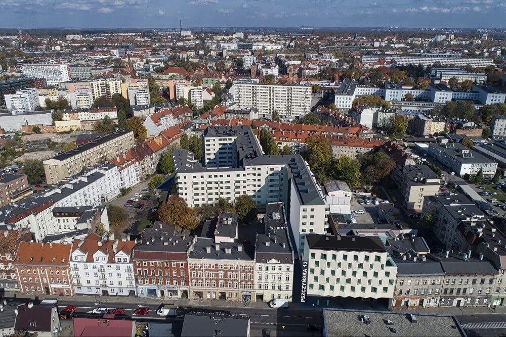 Projekt konstrukcyjny kompleksu budynków mieszkalnych - fot. 09-03