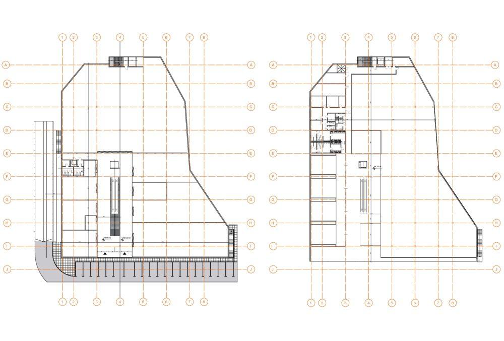 Konstruktionsprojekt des Einkaufszentrums - Zchng. 03-03