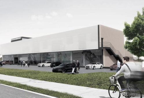 konstruktionsprojekt-deKonstruktionsprojekt des Einkaufszentrums - Vis. 06-03