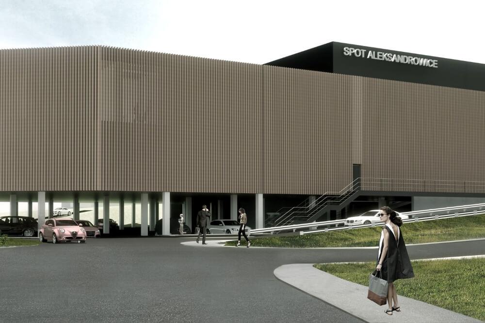 Projekt konstrukcyjny galerii handlowej - wiz. 08-03