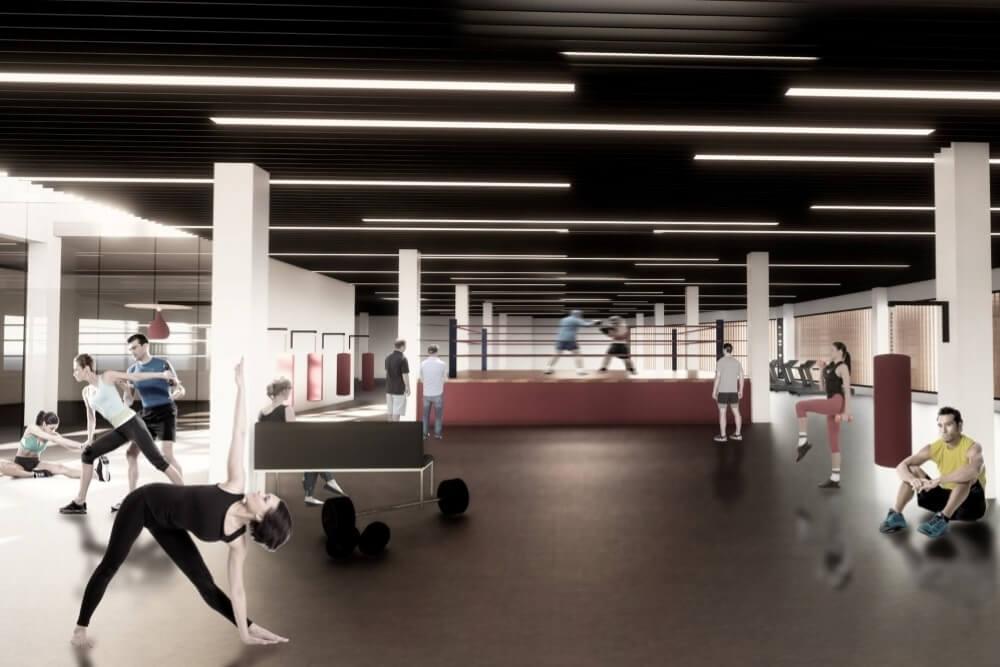 Projekt konstrukcyjny galerii handlowej - wiz. 11-03