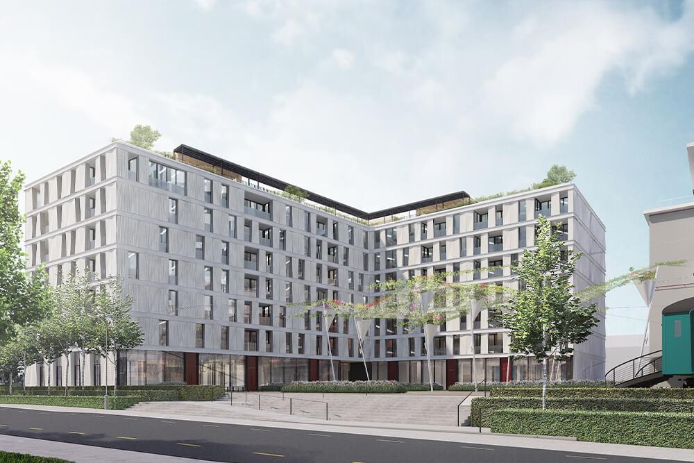 Konstruktionsprojekt der Pergolen und Dachaufbauten - Vis. 07-03