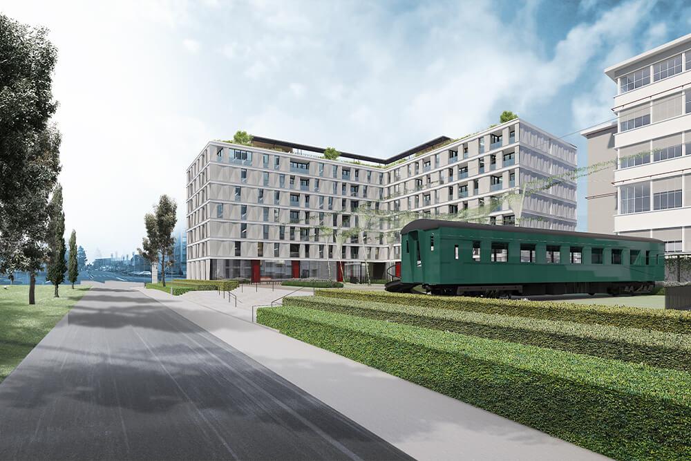Konstruktionsprojekt der Pergolen und Dachaufbauten - Vis. 08-03